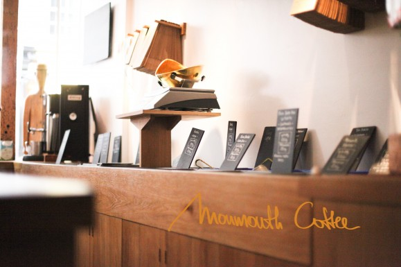 My Cafe Stories, Three: Monmouth Coffee, London